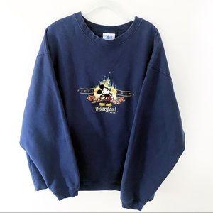 Disneyland 50th Anniversary sweater XXL